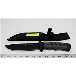OUTBOUND KNIFE IN SHEATH