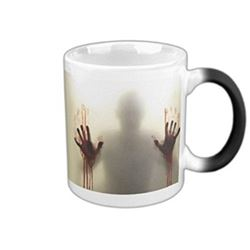 HEAT ACTIVATED ZOMBIE HANDS COFFEE MUG