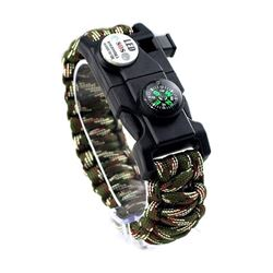 20 IN 1 SURVIVAL PARACORD BRACELET