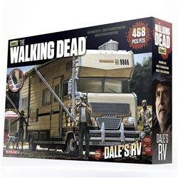 THE WALKING DEAD DALE'S RV BUILDING SET.