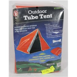 OUTDOOR TUBE TENT.