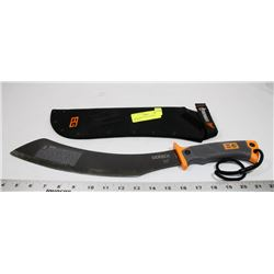 GERBER BEAR GRYLLS SURVIVAL MACHETE.