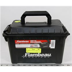 FLAMBEAU TACTICAL AMMO CAN BOX.