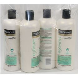 LOT OF 4 TRESEMME CONDITIONER.