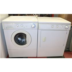"FRIGIDAIRE FRONT LOAD WASHER AND DRYER. 27""X25""X36"
