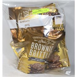 BAG OF BROWNIE BRITTLE TOFFEE CRUNCH.