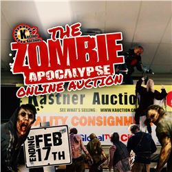 THANK YOU FOR ATTENDING YOUR KASTNER ZOMBIE APOCALYPSE AUCTION!