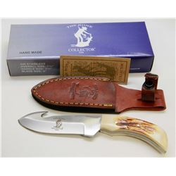 """NEW! THE BONE COLLECTOR 7¼"""" HUNTING KNIFE"""