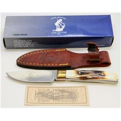 """NEW! THE BONE COLLECTOR 7½"""" HUNTING KNIFE"""