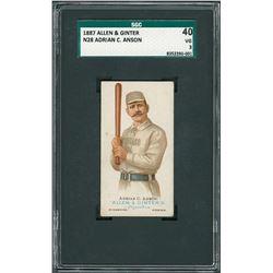 1887 Allen & Ginter Adrian 'Cap' Anson SGC 40 VG 3