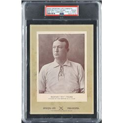 1902-11 W600 Sporting Life Cabinet Cy Young Boston Uniform - PSA GOOD 2 (MK) - One of Only TWO Grade