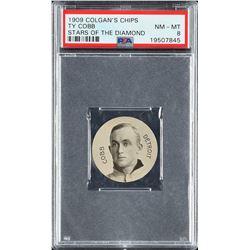 1909 Colgan's Chips Ty Cobb - PSA NM-MT 8