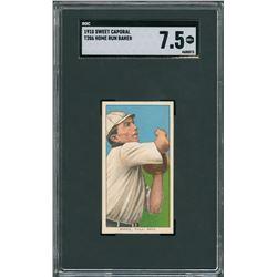 1910 T206 Sweet Caporal Home Run Baker - SGC NM+ 7.5