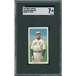 1910 T206 Sweet Caporal Rube Marquard Hands at Thighs – SGC NM 7