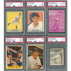 1910s-1960s Multi-Sport and Non-Sport Collection with Graded Cards (Over 500 total cards!)