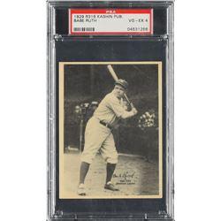 1929 Kashin Publications Babe Ruth - PSA VG-EX 4