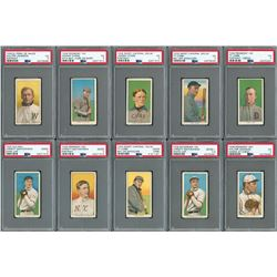1911 T206 White Border Near Complete Set with (32) PSA Graded - with Magie, Demmitt and O'Hara!
