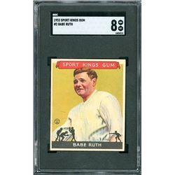 1933 Sport Kings #2 Babe Ruth - SGC NM/MT 8