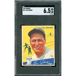 1934 Goudey #37 Lou Gehrig - SGC EX/NM+ 6.5