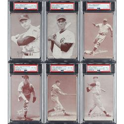 1939-1966 Exhibits Collection (103) with (6) PSA Graded Cards