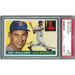 1955 Topps #2 Ted Williams PSA MINT 9