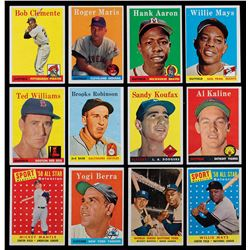 1958 Topps Complete Set of (494) Cards