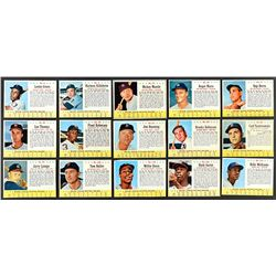 1963 Post Cereal Baseball Complete Set (200)