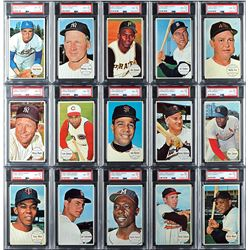 1964 Topps Giants PSA Graded Complete Set - All PSA NM-MT 8