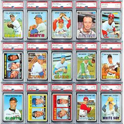 1967 Topps HIGH Grade Collection of (150+) with (32) PSA Graded