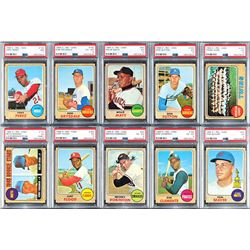 1968 O-Pee-Chee Complete Set (196) Highlighted by the Nolan Ryan Rookie