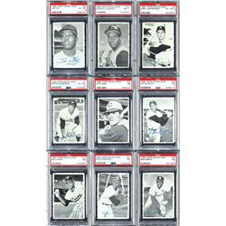 1969 Deckle Edge PSA Graded Complete Set (35)