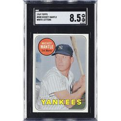 1969 Topps #500 Mickey Mantle - SGC 8.5