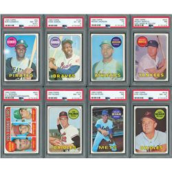 1969 Topps Complete Set with (8) PSA Graded