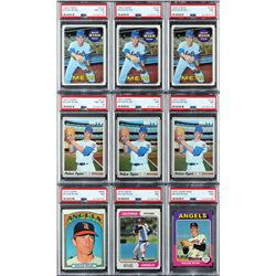 1969-1980s Nolan Ryan Collection with (25) PSA Graded - Over 100 Total Cards!