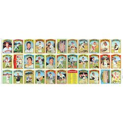 1972 Topps Baseball 33-Card High Number Uncut Sheet