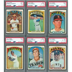 1972 Topps Complete Set (787) with (6) PSA Graded