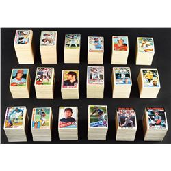 1977 - 87 HIGH GRADE OPC Baseball Complete Set Run (10)