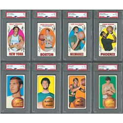 1969 and 1970 Topps Basketball Complete Sets with (27) PSA Graded