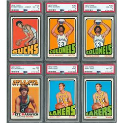 1970-72 Topps Basketball PSA Graded Collection (13)