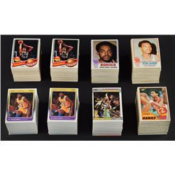 1973-1988 Topps and Fleer Basketball Complete Set Lot (7)