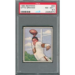 1950 Bowman #45 Otto Graham Rookie PSA NM-MT+ 8.5
