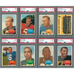 1960 Topps Football HIGH GRADE Complete Set with (20) PSA Graded!