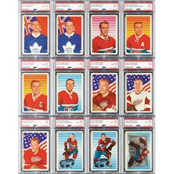 1963 Parkhurst Hockey VERY HIGH GRADE Complete Set (99) with (13) PSA Graded