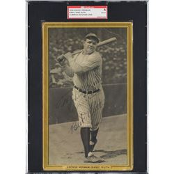 1933 Goudey Signed Premium of Babe Ruth - PSA/DNA