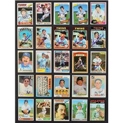 1960's-1980's Signed Baseball Card Collection (1,200+) with 250+ Deceased and 200+ HOFers!