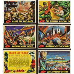 1962 Mars Attacks Complete Set (55)