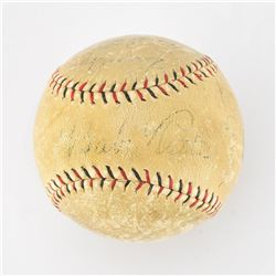Babe Ruth and Lou Gehrig Signed Baseball