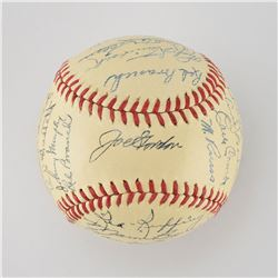 1942 New York Yankees American League Champions Team Signed Baseball with DiMaggio