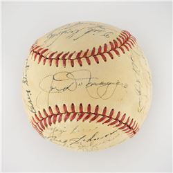 1949 New York Yankees World Series Champions Team Signed Baseball with DiMaggio