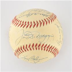 1950 New York Yankees World Series Champions Team Signed Baseball with DiMaggio and Ford